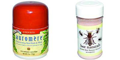 Разновидности убтана от марок Auromere и Bee Naturals